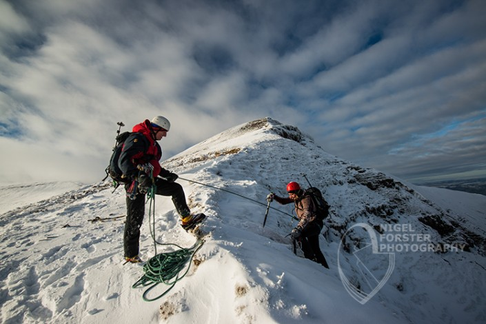 Climbing Instruction. Outdoor Activities and Events photography by Nigel Forster ABIPP