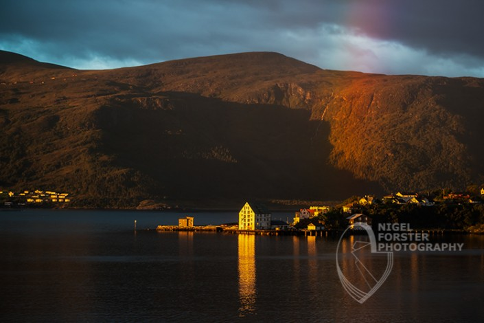 Alesund at sunrise, Norway. An example of Landscape, Architecture, Travel and Tourism Photography, using dramatic lighting and striking composition by Nigel Forster ABIPP. Commission Nigel Forster ABIPP to capture your business, event, attraction or location with dramatic use of light and striking composition.