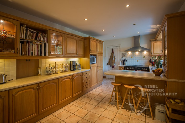 Bed & Breakfast and Hotel Photography. Kitchen Example