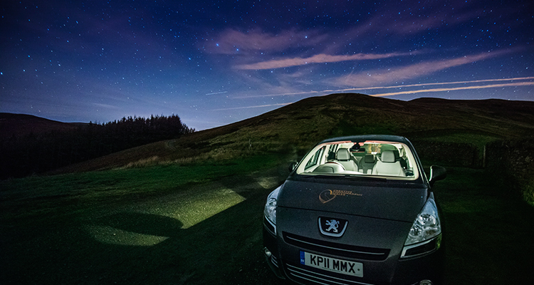 Nigel Forster Photography Car on Tor y Foel