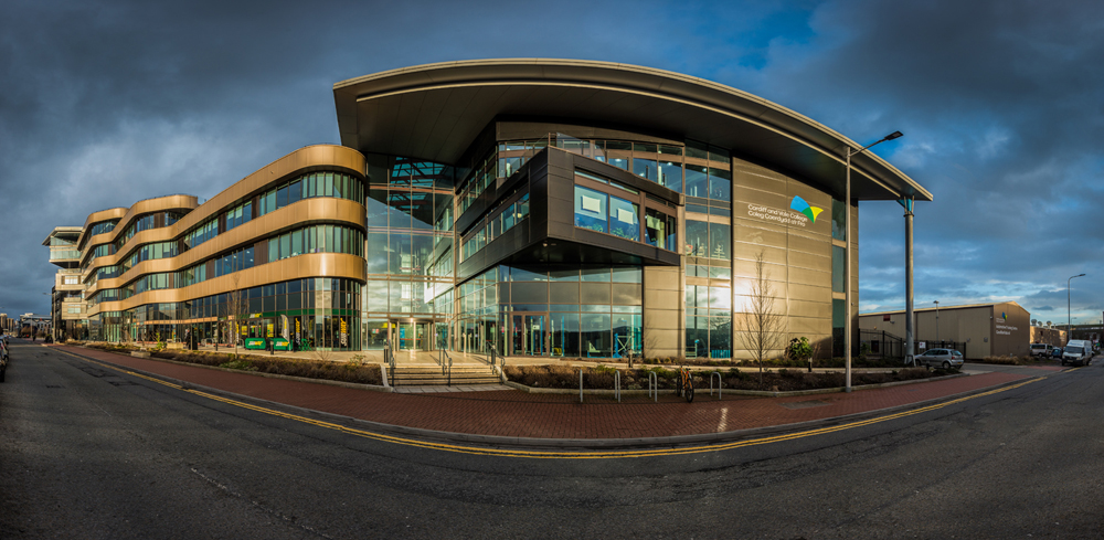 Architectural Photography: Cardiff and Vale College for Jubb Consulting Ltd