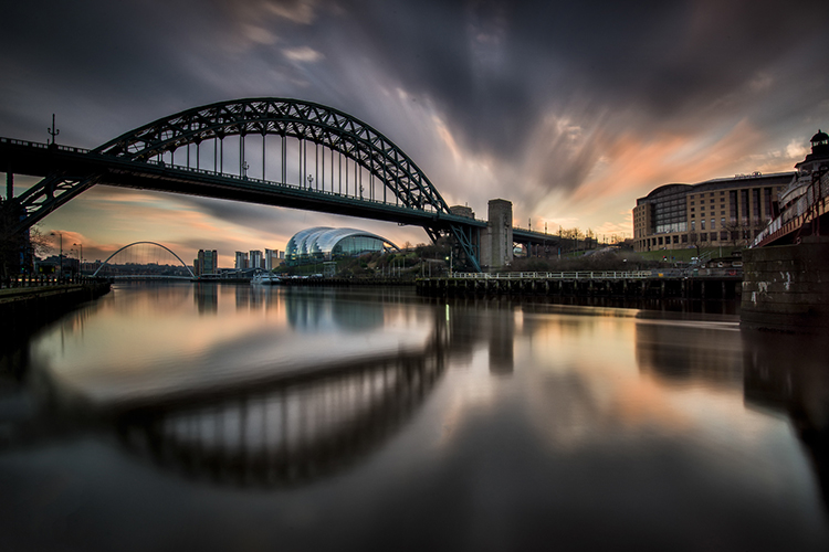 Tyne Bridge Newcastle. Images by Nigel Forster Photography.